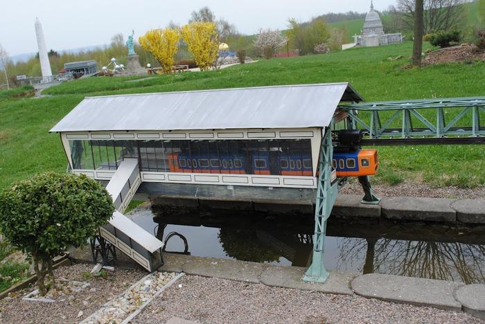 Парк миниатюр в Германии - Miniwelt Lichtenstein, Sachsen. 49985
