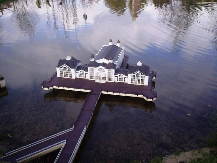 Парк миниатюр в Германии - Miniwelt Lichtenstein, Sachsen. 52427