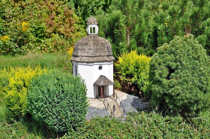 Парк миниатюр в Германии - Miniwelt Lichtenstein, Sachsen. 79076
