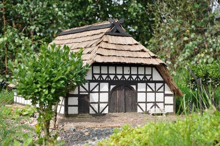Парк миниатюр в Германии - Miniwelt Lichtenstein, Sachsen. 42765