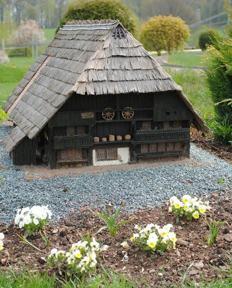 Парк миниатюр в Германии - Miniwelt Lichtenstein, Sachsen. 23733
