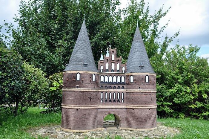 Парк миниатюр в Германии - Miniwelt Lichtenstein, Sachsen. 42246