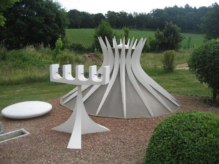 Парк миниатюр в Германии - Miniwelt Lichtenstein, Sachsen. 79806