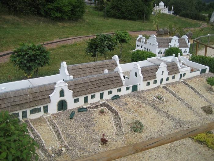 Парк миниатюр в Германии - Miniwelt Lichtenstein, Sachsen. 83041