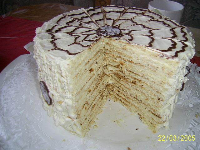 Торт сметанник