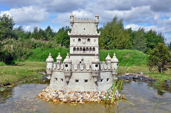 Парк миниатюр в Германии - Miniwelt Lichtenstein, Sachsen. 71953