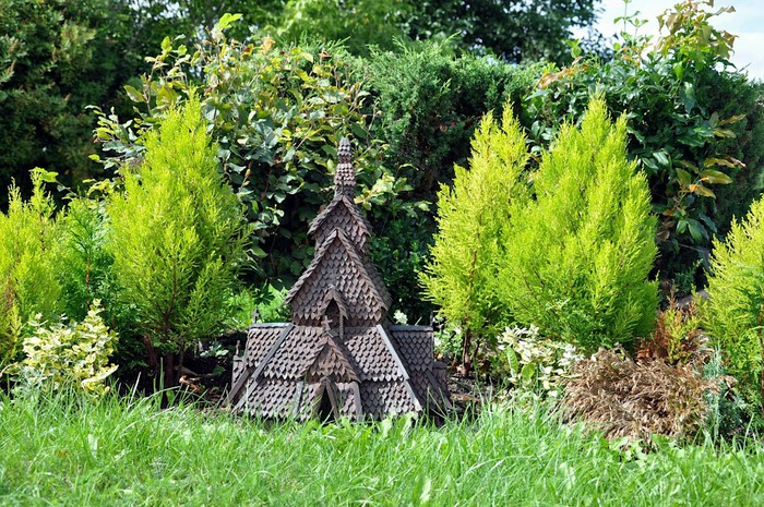Парк миниатюр в Германии - Miniwelt Lichtenstein, Sachsen. 12618