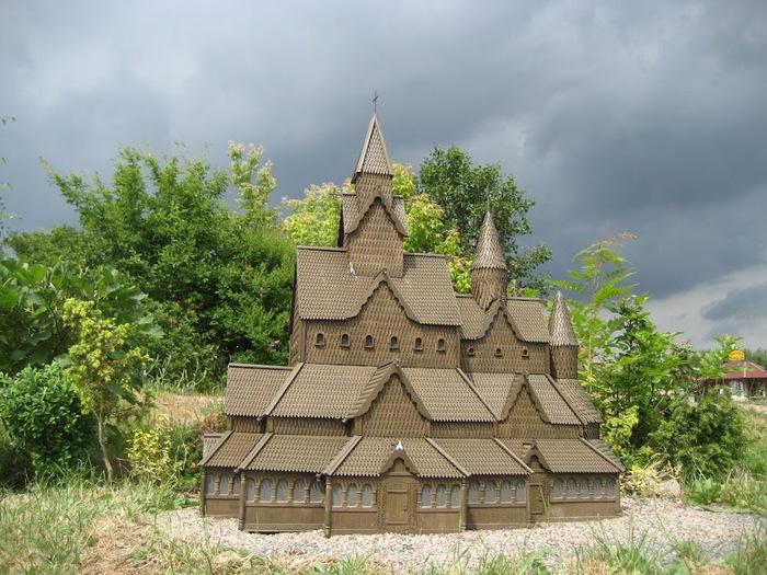 Парк миниатюр в Германии - Miniwelt Lichtenstein, Sachsen. 42283