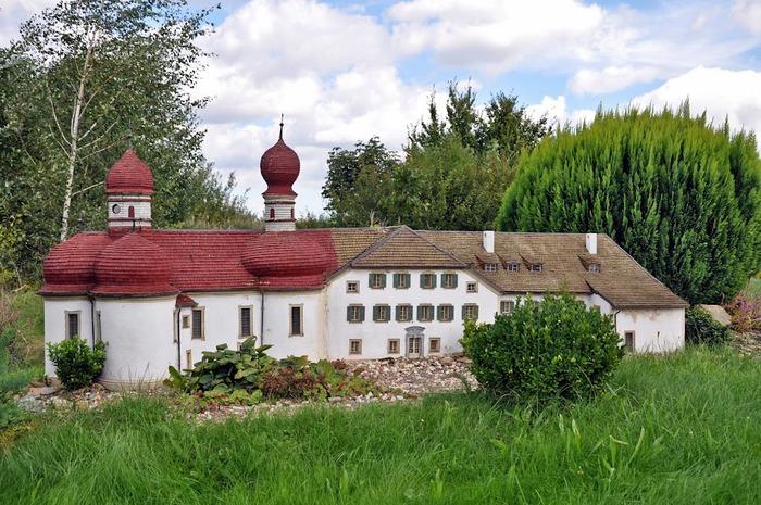Парк миниатюр в Германии - Miniwelt Lichtenstein, Sachsen. 69941