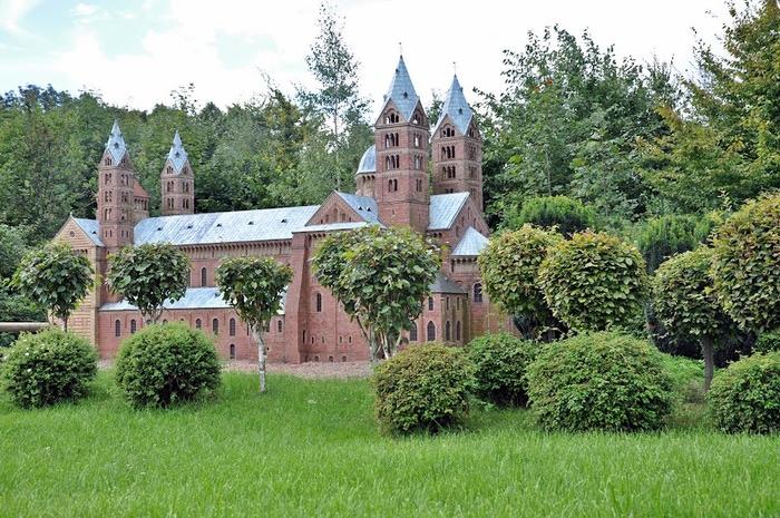 Парк миниатюр в Германии - Miniwelt Lichtenstein, Sachsen. 59510