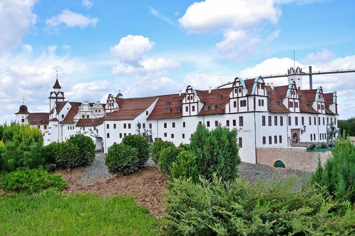 Парк миниатюр в Германии - Miniwelt Lichtenstein, Sachsen. 72403