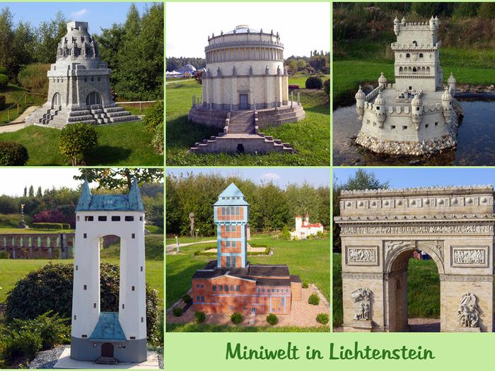 Парк миниатюр в Германии - Miniwelt Lichtenstein, Sachsen. 81212