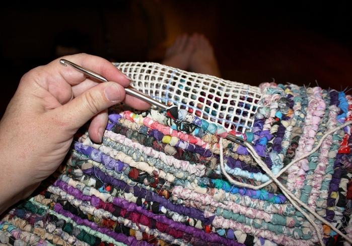 Половик своими руками из старых вещей плетение