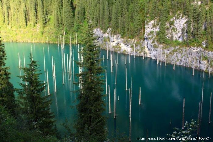 Озера и водохранилища Казахстана » Физическая