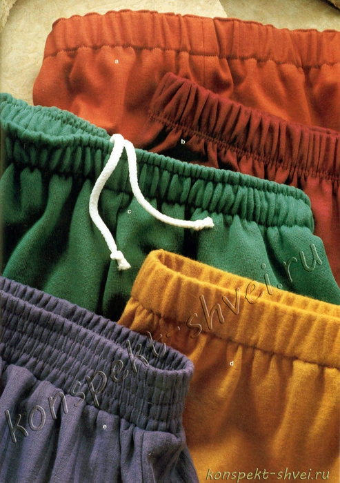 Как вшить широкую резинку в юбку