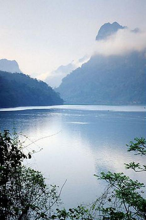 Достопримечательности Вьетнама - озера Ба Бе 8 (464x700, 265Kb)
