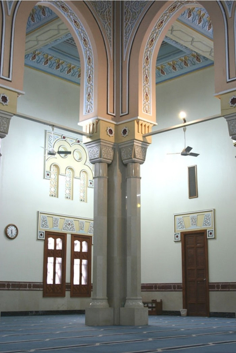 Мечеть Джумейра - жемчужина Дубай 6 (467x700, 309Kb)