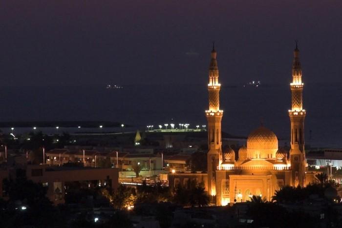 Мечеть Джумейра - жемчужина Дубай 10 (700x467, 53Kb)