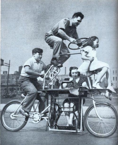 Семейный велосипед со швейной машинкой (США, 1939) (500x613, 59Kb)