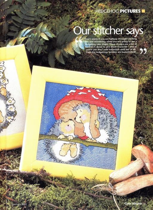 19 - Margaret Sherry - Hedgehog (512x700, 191Kb)