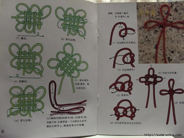 Прекрасная роза в технике макраме.  ПЛЕТЁМ узлы чжунгоцзе И шнуры кумихимо.  У меня есть книжка про макраме...