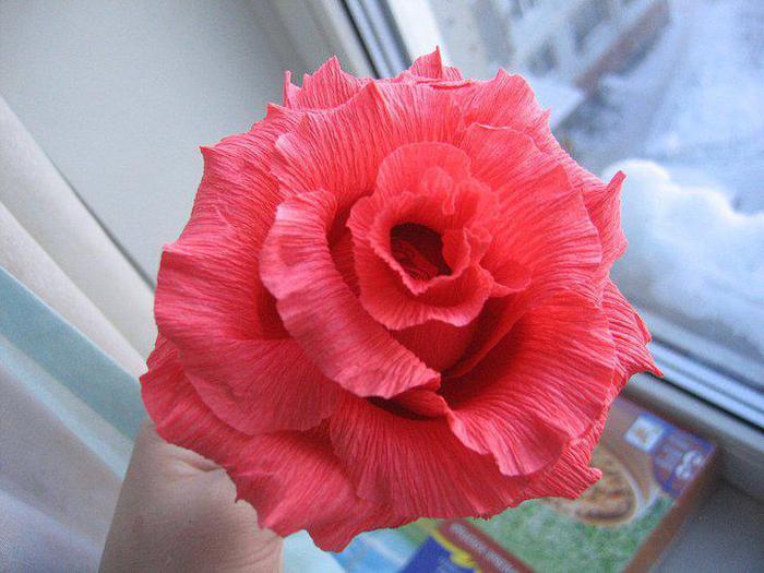 Букет роз своими руками из бумаги