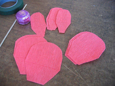Букеты из гофрированной бумаги своими руками с