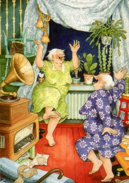 Старушки-веселушки Inge Look.