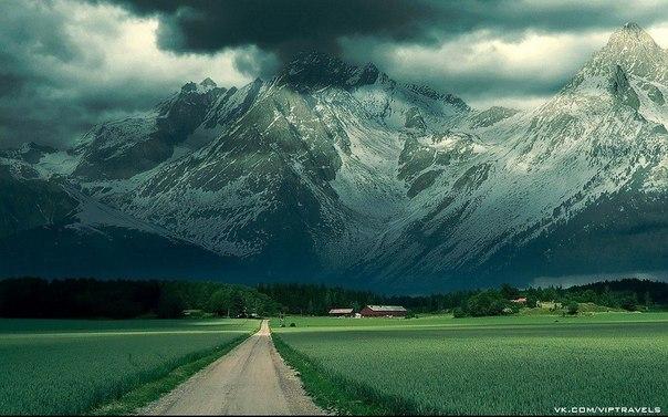 Зеландия южный остров гора кука