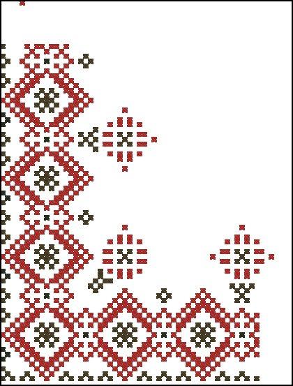 белорусская вышивка крестом