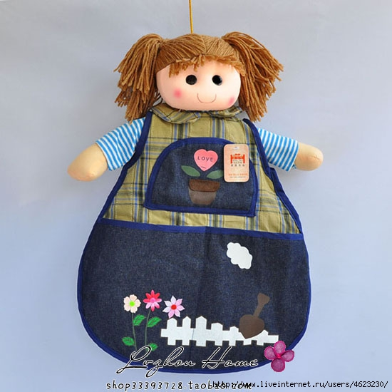 Кукла своими руками для расчесок