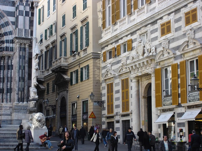 Генуя - мечта поэта Часть 3 12688