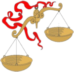 """Предпросмотр - Схема вышивки  """"Знаки зодиака-весы """" - Схемы автора  """"zwezda """" - Вышивка крестом."""