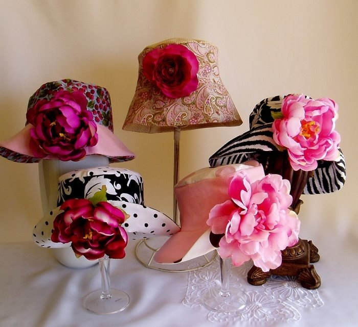 Летние шляпки шьём сами.  На самом деле это не очень сложно.  И можно сделать шляпку под любой наряд.