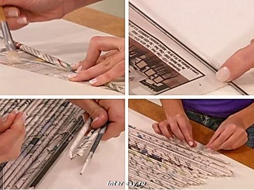 Жалюзи из газет своими руками пошаговая инструкция