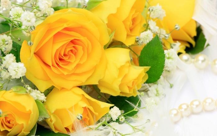 Картинки бусы с цветами 5
