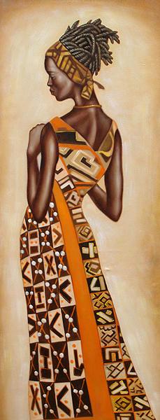 Африканские мотивы.