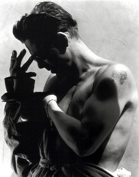 Грег Горман и его черно-белые портреты знаменитостей 60 (549x700, 87Kb)