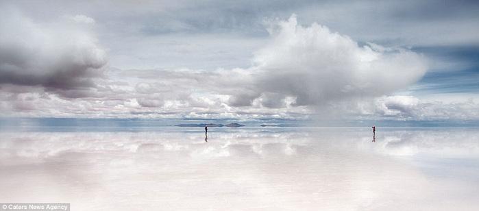 соляное озеро в боливии 2 (700x308, 55Kb)