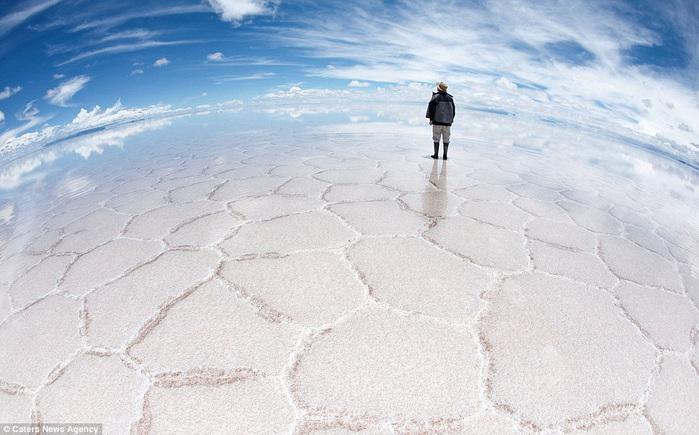 соляное озеро в боливии 6 (700x435, 128Kb)