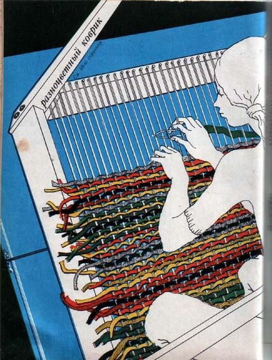 Станки для плетения ковриков