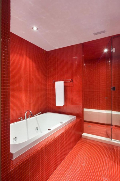 Угловые ванные дизайн фото