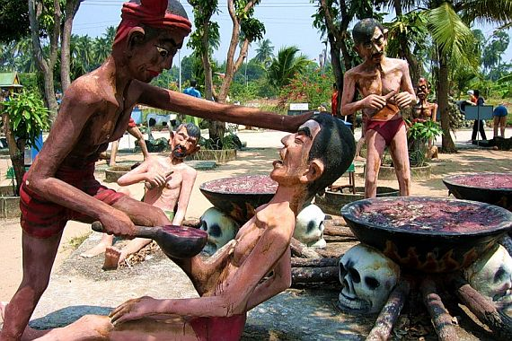 храм ада и рая таиланд 8 (570x380, 80Kb)