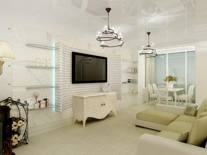 Кухня-гостиная 18 кв м дизайн