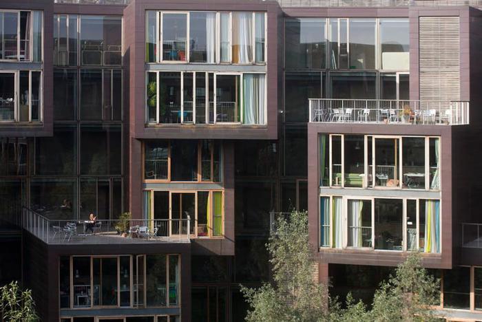 студенческое общежитие в Копенгагене фото 2 (700x468, 122Kb)