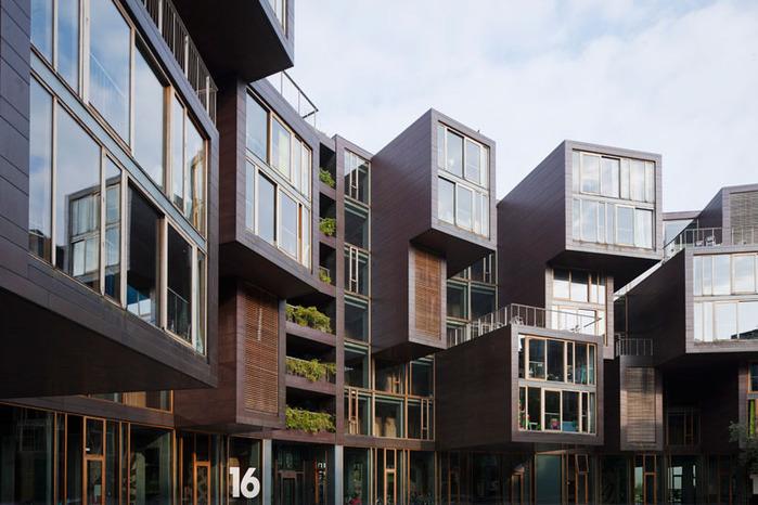 студенческое общежитие в Копенгагене фото 5 (700x466, 116Kb)