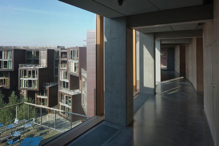 студенческое общежитие в Копенгагене фото 10 (700x466, 94Kb)