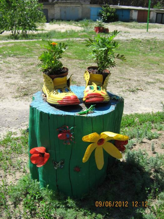 Поделки для огорода и сада своими руками фото
