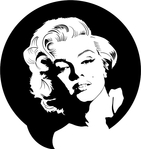 Превью Marilyn-Monroe-vector (660x700, 99Kb)