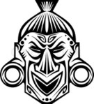 ������ 2101239-331551-ancient-tribal-religious-mask-isolated-on-white (434x480, 58Kb)